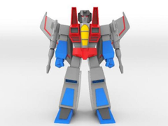 Transformers Vintage Arts Sofubi Starscream (Original Animated Ver.) Limited Edition