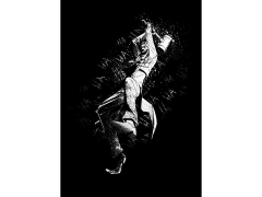 DC Dark Edition Joker (Hammer) Displate Metal Print
