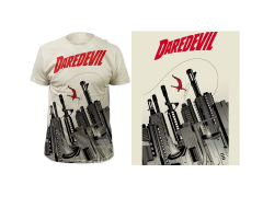 Marvel Daredevil Gun City T-Shirt