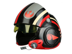 Star Wars Poe Dameron (The Force Awakens) 1:1 Scale Wearable Helmet (Black Squadron)