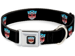 Transformers Autobot Logo SeatBelt Buckle Dog Collar