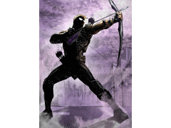 Marvel Dark Edition Hawkeye Displate Metal Print