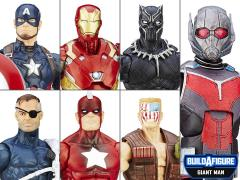 Captain America: Civil War Marvel Legends Wave 2 Set of 6 (Giant Man BAF)