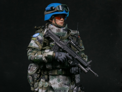 Chinese Peacekeeper PLA In UN Peacekeeping Operations 1/6 Scale Figure