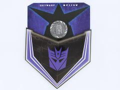 Transformers Masterpiece MP-11SW Skywarp Collector Coin