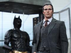 The Dark Knight MMS236 Batman Armory with Bruce Wayne & Alfred Pennyworth 1/6th Scale Collectible Set