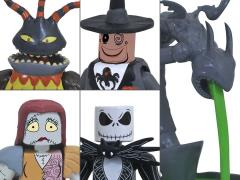 The Nightmare Before Christmas Minimates Town Hall Fountain Deluxe Box Set