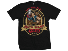 Army of Darkness Ash Amber Ale T-Shirt PX Previews Exclusive