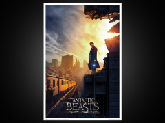 Fantastic Beasts and Where to Find Them Art Print - Amid The Rubble