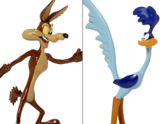 Looney Tunes Wile E. Coyote & Road Runner Bendable Figures