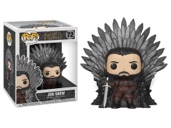 Pop! Deluxe: Game of Thrones - Jon Snow on Iron Throne