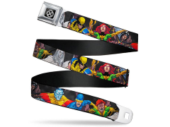 Marvel X-Men Action Poses SeatBelt Buckle Belt