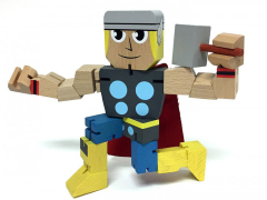 Marvel Wood Warriors - Thor