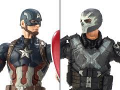 Marvel Studios: The First Ten Years Marvel Legends Captain America & Crossbones Two Pack
