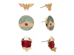 Wonder Woman Earrings Three-Pack