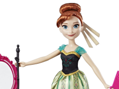 Frozen Anna Fashion Doll With Coronation Vanity
