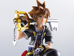 Kingdom Hearts II Static Arts Gallery Statue - Sora