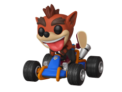 Pop! Rides: CTR: Crash Team Racing Nitro-Fueled - Crash Bandicoot With Kart