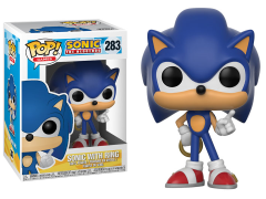 Pop! Games: Sonic the Hedgehog - Sonic (With Ring)
