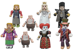 Alice Through the Looking Glass Minimates Series 1 Two Pack Set of 4