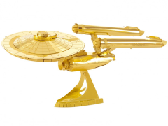 Star Trek Metal Earth Model Kit - U.S.S Enterprise NCC-1701 50th Anniversary Gold Edition