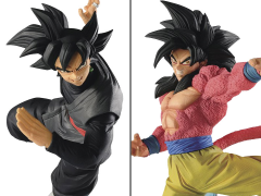 Dragon Ball Son Goku FES!! Stage 6 Super Saiyan 4 Goku & Goku Black (Repaint) Set