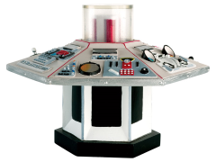 Doctor Who TARDIS Console Collection #1 Fourth Doctor
