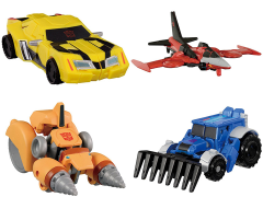 Transformers Adventure TAV-48 EZ Collection Team Bumblebee Vs Thunderhoof