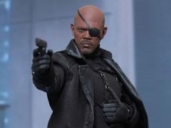 Captain America: The Winter Soldier MMS315 Nick Fury 1/6th Scale Collectible Figure + $75 BBTS Store Credit Bonus
