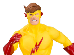 The New Teen Titans Kid Flash Multi-Part Statue Diorama