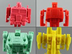 Transformers Kabaya Gum G1 Set of 4 Model Kits