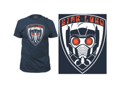 Marvel Guardians of the Galaxy Vol. 2 Star-Lord T-Shirt
