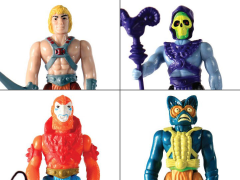 Masters of the Universe ReAction Figures Wave 1 Set of 4