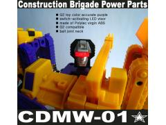 CDMW-01* Construction Brigade Power Parts Custom Head