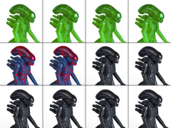 Alien Xenomorph ReAction Box of 12 Figures