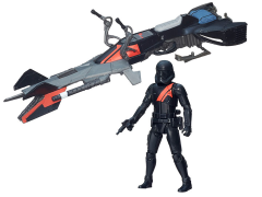 "Star Wars 3.75"" Class I Vehicle Elite Speeder Bike (The Force Awakens)"