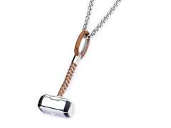 Marvel Thor's Hammer Mjolnir Pendant Necklace
