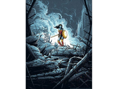 Batman v Superman Wonder Woman Warrior (Variant) Art Print