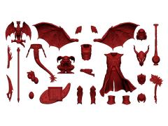 Vitruvian H.A.C.K.S. Character Builder Demon Kit (Hellfire Red)