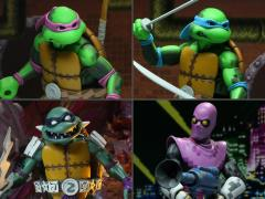TMNT: Turtles in Time Wave 1 Set of 4 Figures
