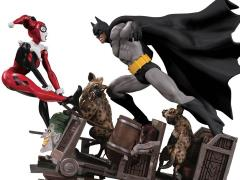 DC Comics Batman Vs. Harley Quinn Limited Edition Battle Statue (2nd Edition)