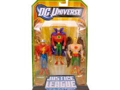 DC Universe Classics Justice League Unlimited Golden Age Three-Pack