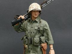 World War II US Marine Corps Browning Automatic Rifle (BAR) Gunner 1/6 Scale Accessory Set