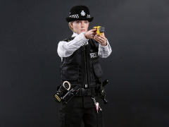 British Metropolitan Police Service Female Police Officer 1/6 Scale Figure