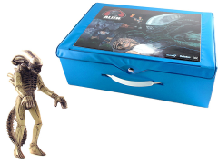 Super 7 Alien ReAction Carry Case With Big Chap Figure