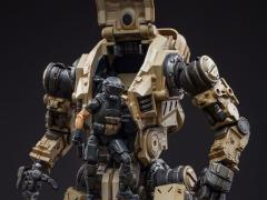 Dark Source Freeman Machine Armor With Pilot (Sand) 1/18 Scale Figure Set