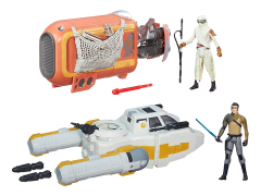 "Star Wars 3.75"" Class I Deluxe Vehicle Wave 02 - Set of 2"