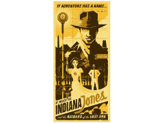 Indiana Jones If Adventure Has A Name Canvas Wrapped Print (Raiders of the Lost Ark)