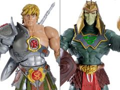 Masters of the Universe Classics Snake Armor He-Man Vs. Battle Armor King Hssss