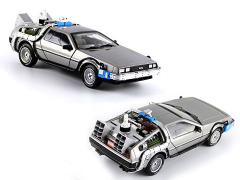 Back to the Future Hot Wheels Heritage 1:18 Scale Time Machine With Mr. Fusion